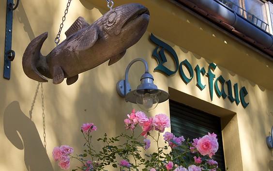 "Löcknitz-Forelle - Fish restaurant ""Dorfaue"""