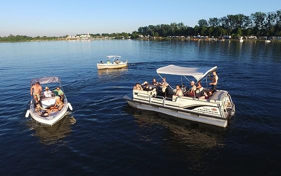 """""""Cruiser Craft"""" Motor Boat Rental"""