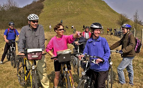 Radtour zu den Adonisröschen, Foto: Seenland Oder-Spree e.V.
