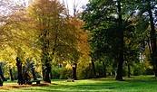 Schloss Brody, Schlosspark, Foto: Wolfgang Roth