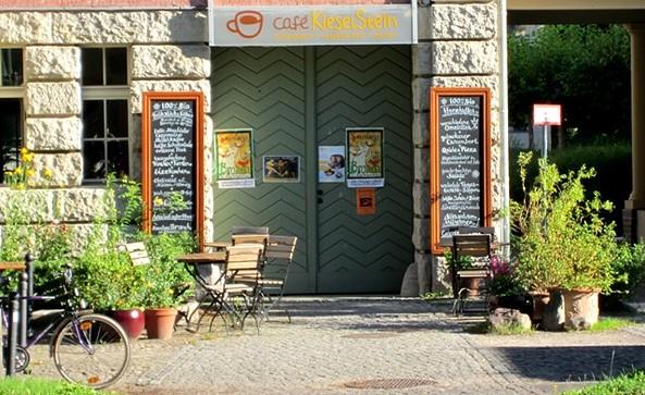"""Bio-Café """"Kieselstein"""", Foto: Ronald Koch"""