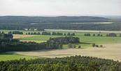 Das Glauer Tal von unten und oben, Foto: Tourismusverband Fläming