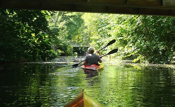 Gubig Schleuse, Foto: Tourismusverband Seenland Oder-Spree