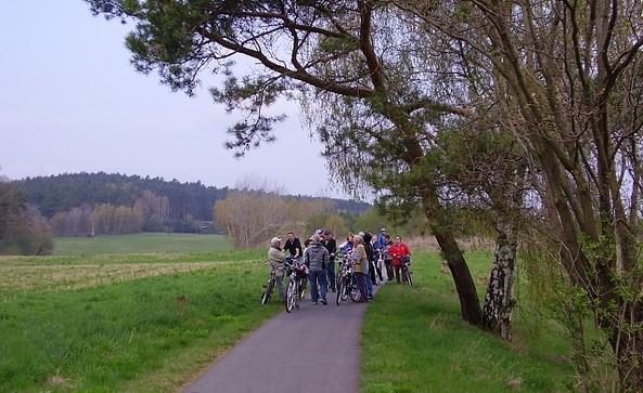 Radler im Schraden, Foto: TV Elbe-Elster-Land e.V.