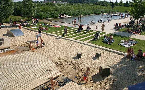 Volkspark Potsdam auf dem ehemaligen BUGA-Gelände