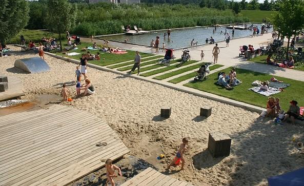 Volkspark Potsdam - Wasserspielplatz