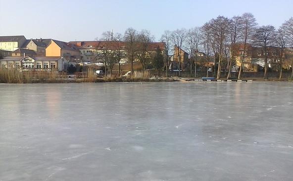 Oberpfuhlsee im Winter, Lychen, Foro: E. Meier