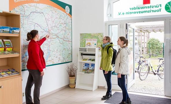 Touristinformation Fürstenwalde/Spree, Foto: Florian Läufer