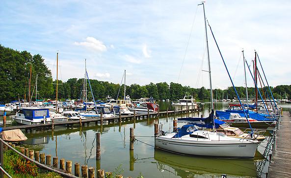Seesport- und Yachtclub Goyatz e.V. - große, gut ausgestattete Marina © Christin Drühl