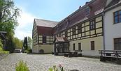 Haupteingang Elstermühle Plessa