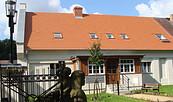 Schlossremise Steinhöfel - Pensionseingang