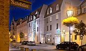 Sorat Hotel, Außenansicht