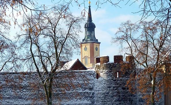 Stadtmauer Templin, Foto: Uwe Werner