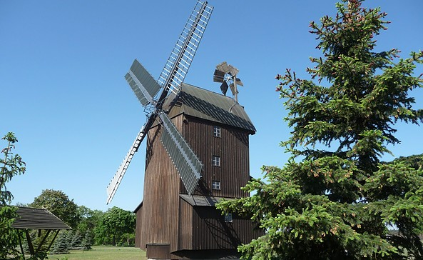 Paltrockwindmühle Schönewalde, Foto: Tourismusverband Elbe-Elster-Land