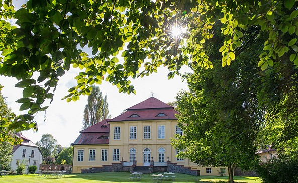 Gutshaus und Park Sauen, Foto: Florian Läufer
