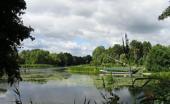 Treidelkahn auf dem Friedrich-Wilhelm-Kanal, Foto: Seenland Oder-Spree/Carola Zenker