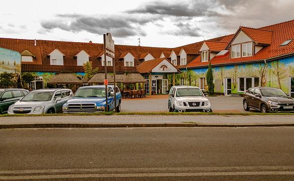 Hotel Mużakowski, Foto: Geschäftsstelle, UNESCO Global Geopark Muskauer Faltenbogen