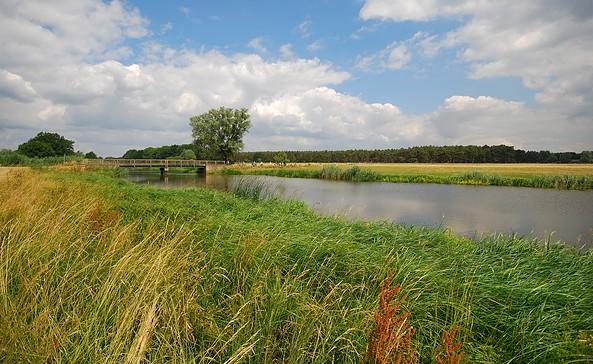 An der Elbe, Foto: Tourismusverband Prignitz e.V. -Corporate Art