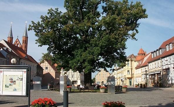 Kyritz Marktplatz, Foto Stadt Kyritz