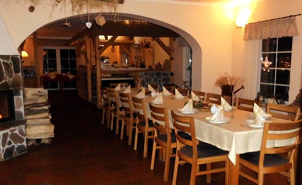 Gastraum Alte Schmiede Heinersdorf, Foto: Ramona Nickel