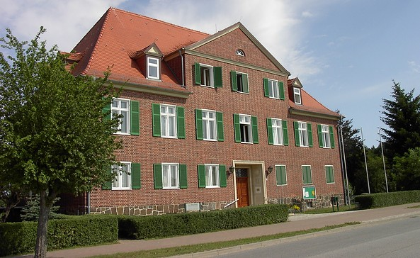 Amtsgebäude Foto: Amt Meyenburg