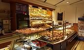 Auslage Bäckerei Rösicke, Foto: Christoph Lampe