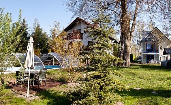 Gästehaus Lasch, Außenansicht Gartenseite, Foto: Fam. Lasch