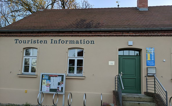 Touristischer Info-Punkt Wusterwitz, Foto: Doreen Ludwig