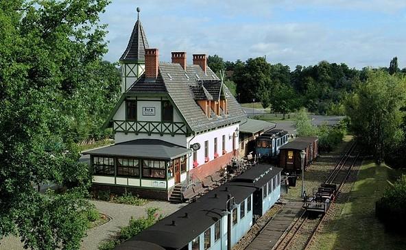 Spreewaldbahnhof Burg © Spreewaldbahnhof Burg