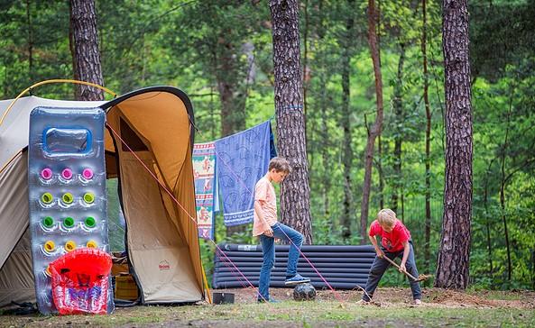 Campingplatz Schervenzsee, Foto: Florian Läufer
