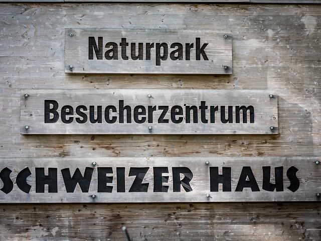 Schweizer Haus - Besucherzentrum im Naturpark Märkische Schweiz