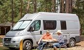 """Wohnmobilstellplatz """"Schervenzsee Camping"""", Foto: Florian Läufer"""