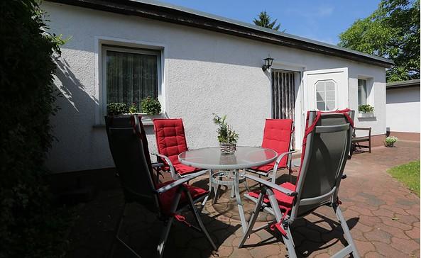 Terrasse des Ferienhauses Malkus, Foto: Frau Malkus