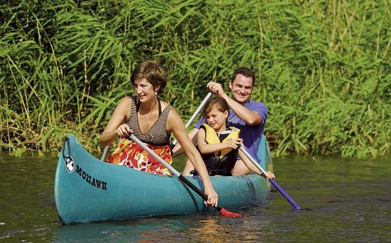 Familientour auf dem Hohennauener-Ferchesarer See