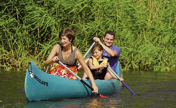 Familientour auf dem Hohennauener-Ferchesarer See, Foto: TV Havelland e.V.