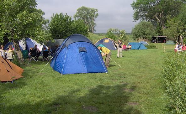 Zeltwiese, Foto: Triangel Camping