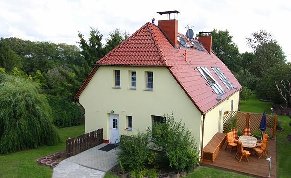 """Ferienhaus """"Am Tanger"""" in Greiffenberg, Foto: Tourismusverein Angermünde"""