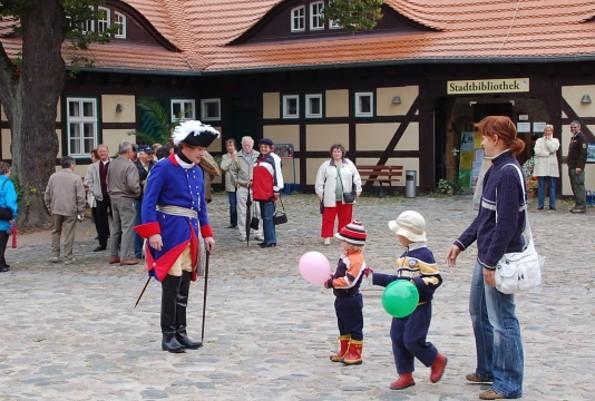 Burg Storkow - Kleine Ritter auf der Burg
