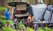 Camping im Seenland Oder-Spree, Foto: Florian Läufer