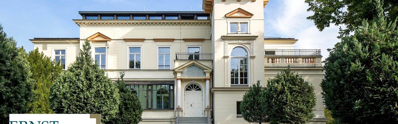 Villa Bergmann - Außenansicht © Klinikum Ernst von Bergmann gGmbH