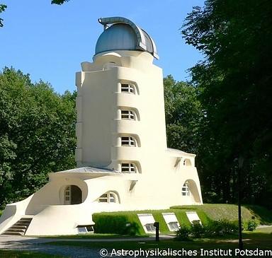 Einsteinturm auf dem Telegrafenberg