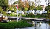 Reisemobilstellplatz am Schlosshafen Oranienburg, Foto: Tourismus und Kultur Oranienburg gGmbH
