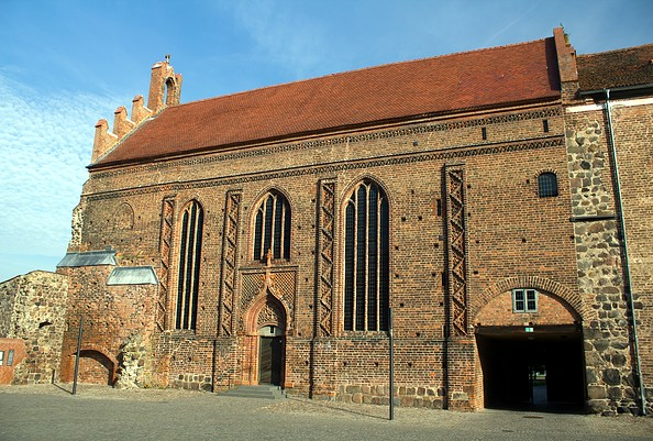 Blick auf die Burgkapelle, Foto: Bansen/Wittig