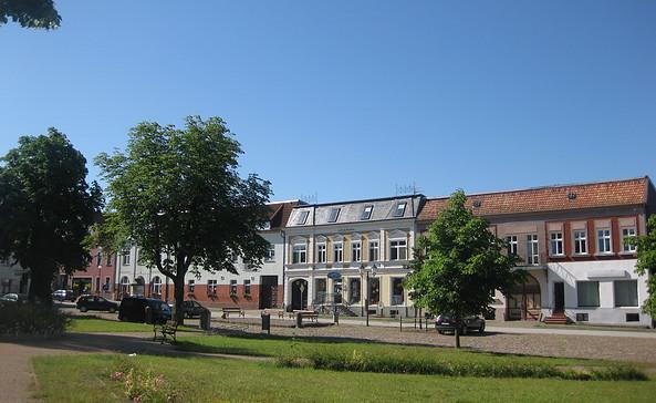 Marktplatz in Brüssow, Foto: tmu GmbH