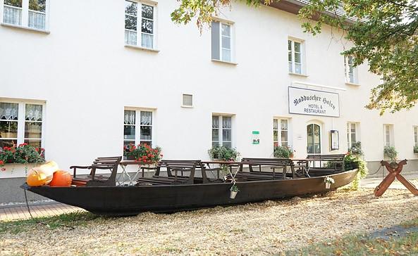Hotel und Restaurant Radduscher Hafen, Foto: Hotel Radduscher Hafen