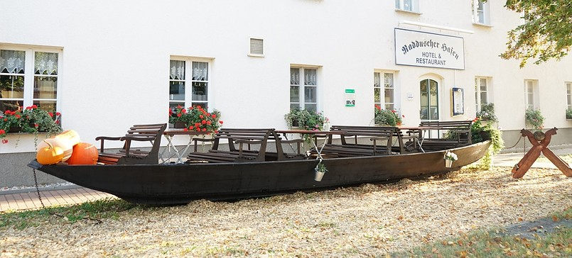"""Restaurant """"Zum Braukrug"""" im Hotel """"Radduscher Hafen"""""""