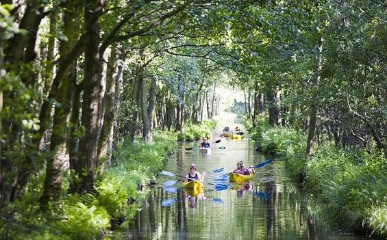 Wasserlabyrinth Spreewald