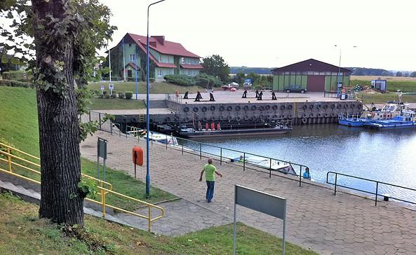 Anleger in Slubice, Foto Michael Reh