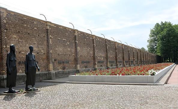 Mauer der Nationen, Foto: Mahn- und Gedenkstätte Ravensbrück / Britta Pawelke