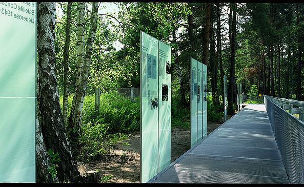 Dokumentationsstätte KZ-Außenlager Lieberose, Foto: Ev. KG Lieberose und Land / Berthold Weidner